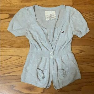 Hollister Cardigan With Bow Pockets